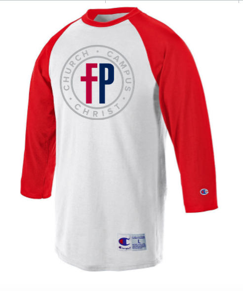 79e0f033 Champion Raglan Baseball T-Shirt – First Priority Club